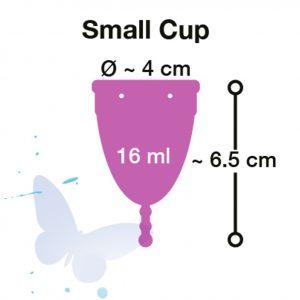 coppetta mestruale small